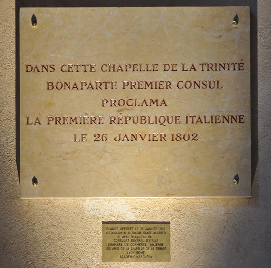 Le 210e anniversaire de la consulta de lyon acad mie for Chambre de commerce italienne en france